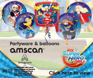 pg-buzz-web-banners Amscan -DC- Super Hero Girls